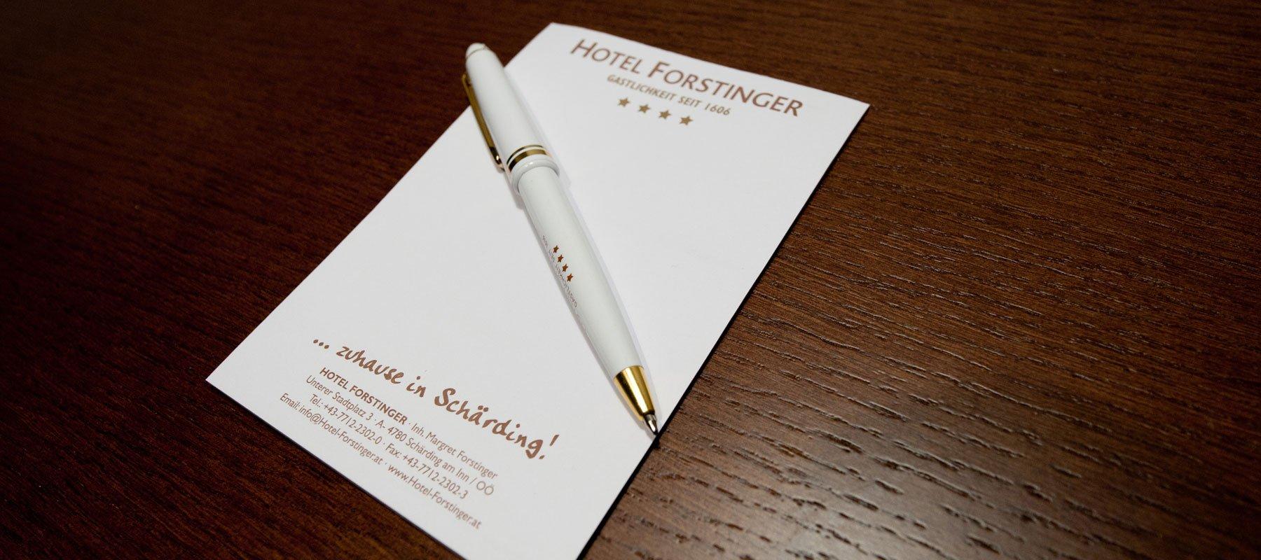 Seminare im Hotel Forstinger