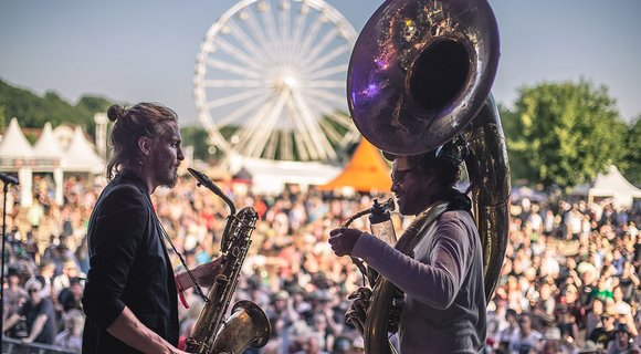 Woodstock of brass music